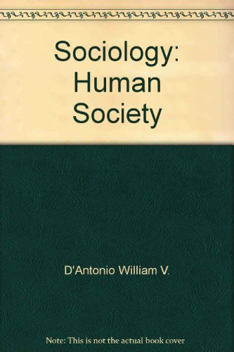 9780673079275: Sociology: Human society