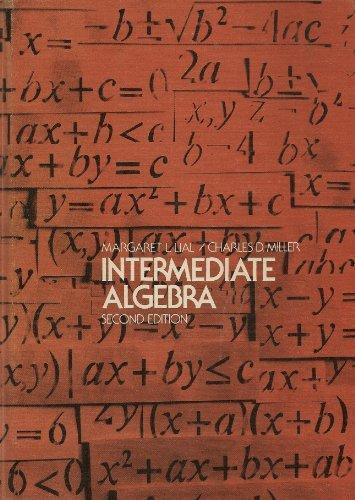 9780673079862: Intermediate Algebra: 2nd Edition