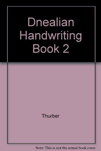 Dnealian Handwriting Book 2: Thurber