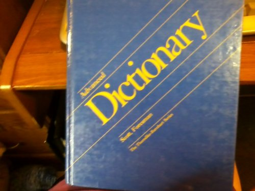 9780673123855: Scott Foresman Advanced Dictionary