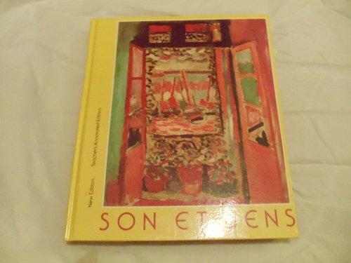 9780673131317: Son et Sens, Teacher's Annotated Edition
