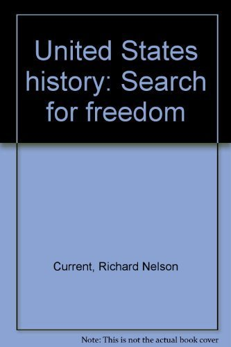 9780673133069: United States history: Search for freedom