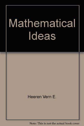 9780673150905: Mathematical ideas