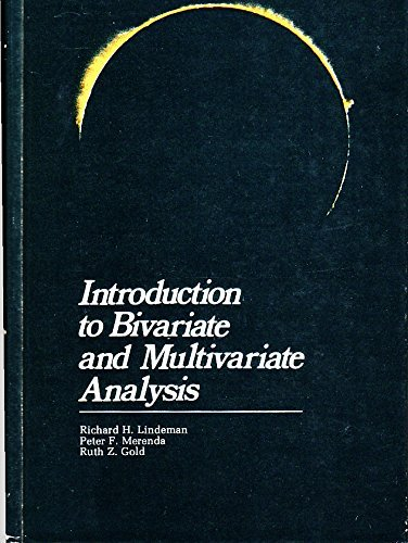 9780673150998: Introduction to Bivariate and Multivariate Analysis