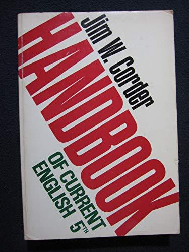 9780673151209: Handbook of current English