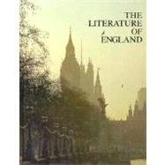 The Literature of England: George K. Anderson;
