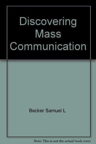 9780673151599: Discovering mass communication