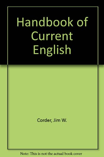 9780673154255: Handbook of Current English