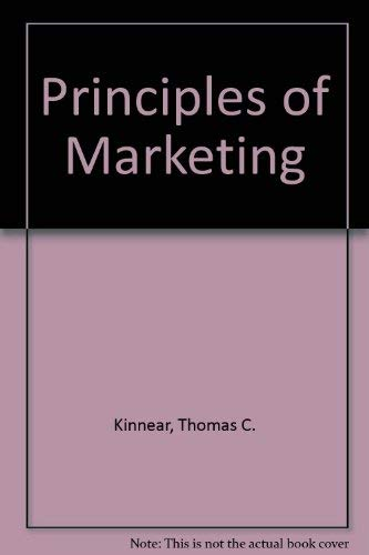 9780673154866: Principles of Marketing