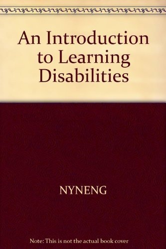 An Introduction to Learning Disabilities: Adelman, Howard S.;Taylor,
