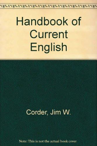 9780673159687: Handbook of Current English