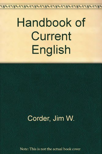 9780673159687: Handbook of Current English