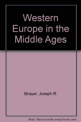 9780673160522: Western Europe in the Middle Ages