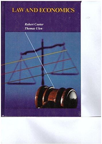 9780673180216: Law and Economics