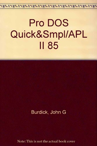 9780673180773: Prodos Quick and Simple for the Apple II Family