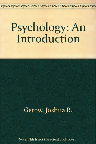 9780673180971: Psychology: An Introduction