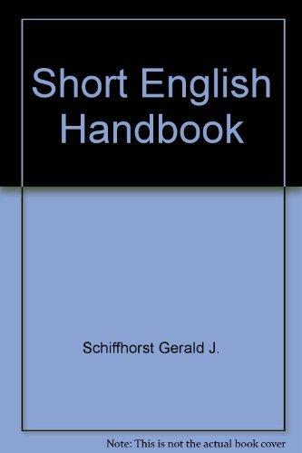 9780673181602: Short English handbook