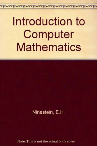 9780673182050: Introduction to Computer Mathematics