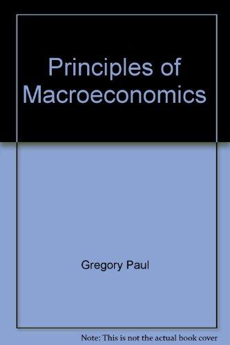 9780673182265: Principles of macroeconomics
