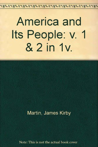 9780673183026: America and Its People (America & Its People)