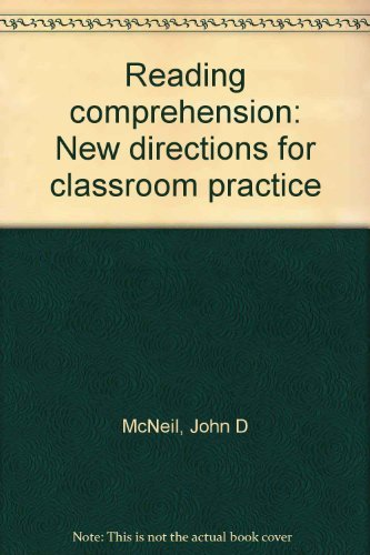 9780673184061: Reading comprehension: New directions for classroom practice