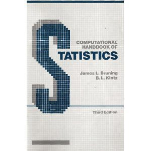 9780673184078: Computational Handbook of Statistics (3rd Edition)