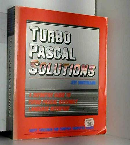 9780673185846: Turbo PASCAL Solutions