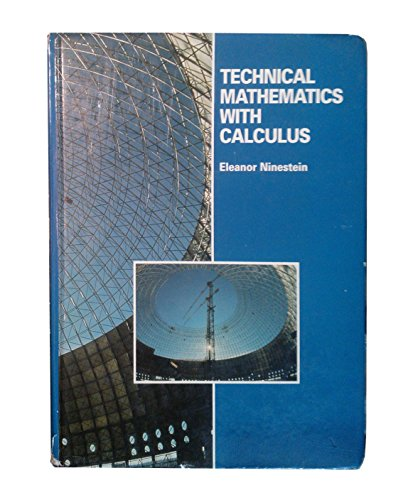 9780673187482: Technical Mathematics With Calculus (Physiological Psychology)