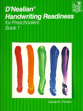 9780673188557: D'NEALIAN HANDWRITING READINESS FOR PRESCHOOLERS, BOOK 1