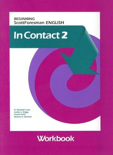 9780673195319: In Contact 2: Beginning Scott Foresman English