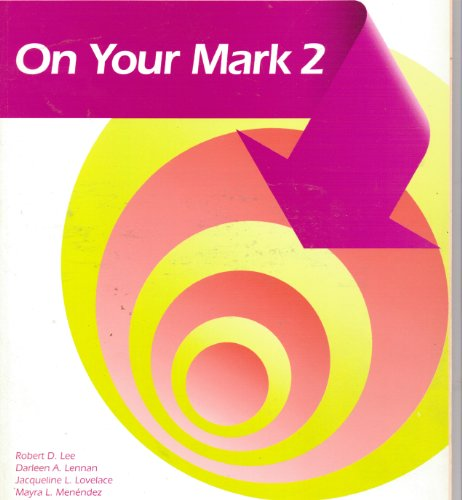 9780673195937: On Your Mark Book 2 Sf English (Scott Foresman English) (Bk. 2)