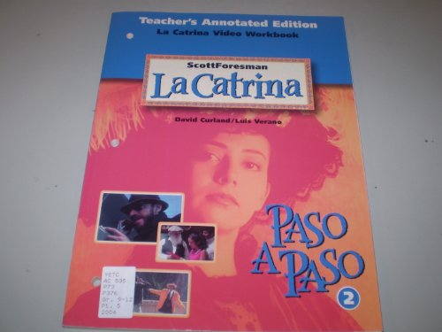 9780673218049: La Catrina: Realidades Video Workbook, Level 2, Teacher's Annotated Edition (Spanish Edition)