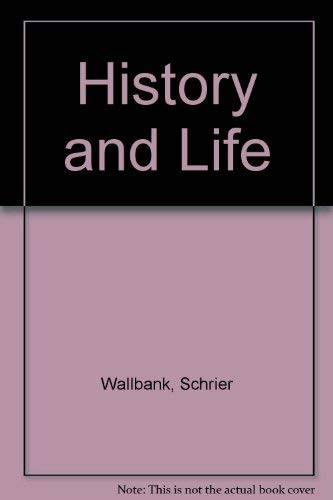9780673222619: History and Life
