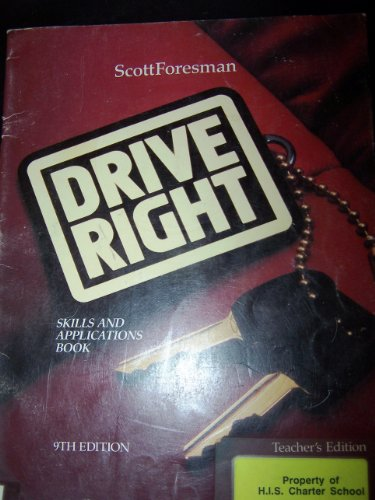 9780673224767: Drive Right, Teacher's Edition, 9th Edition