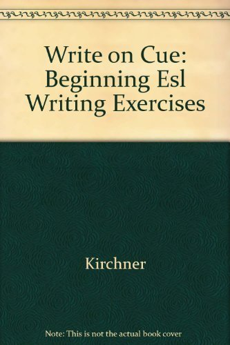 9780673242372: Write on Cue: Beginning Esl Writing Exercises