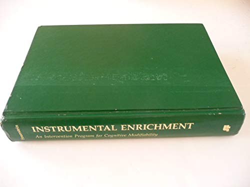 9780673246004: Instrumental Enrichment: An Intervention Program for Cognitive Modifiability