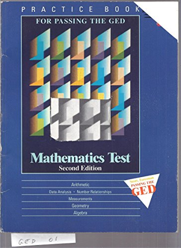 Practice Book for Passing the Ged Mathematics Test (L243249): Scott Foresman