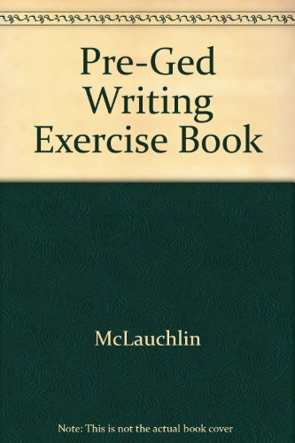 9780673249753: Pre-Ged Writing Exercise Book