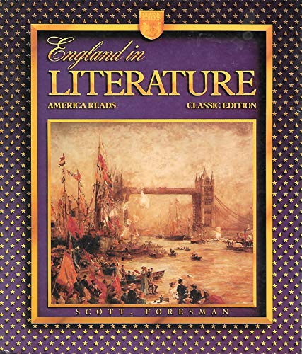 9780673270740: England in Literature (America Reads)