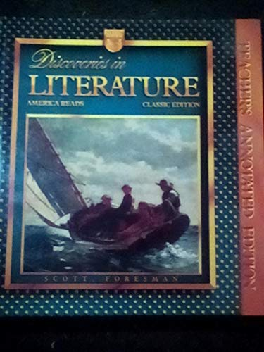 9780673270771: Discoveries in Literature America Reads Teacher's Annotated Edition (Classic Edition)