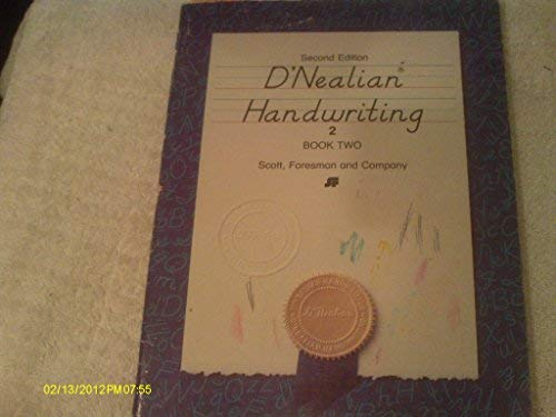9780673273024: D'nealian Handwriting (Book Two) (Second Edition)