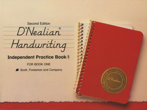 9780673273413: D'Nealian Handwriting, Independent Practice/Book 1