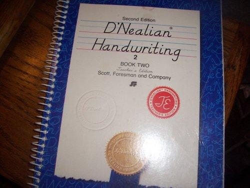 9780673285225: Second Edition D'nealian Handwriting (Teacher's Edition, Book 2)