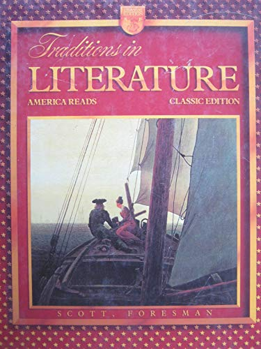 9780673293800: Traditions in Literature: America Reads