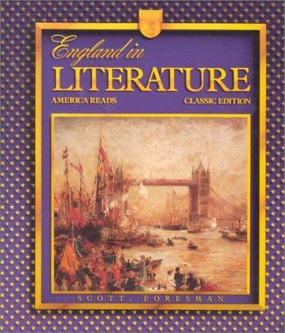 England in Literature: America Reads (Classic Edition): John Pfordresher, Gladys