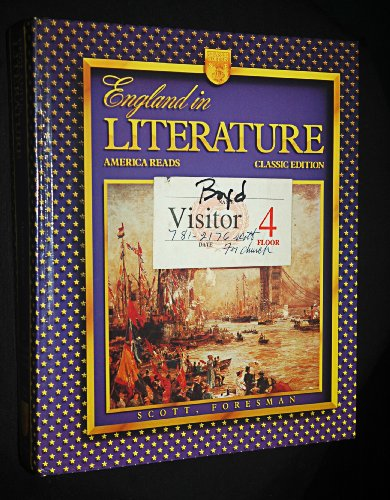 9780673293848: England in Literature: America Reads (Classic Edition)