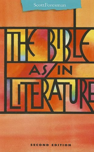 9780673294241: The Bible As/In Literature Anthology (Points of Departure)