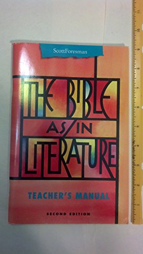9780673294340: The Bible As/In Literature (Points of Departure)