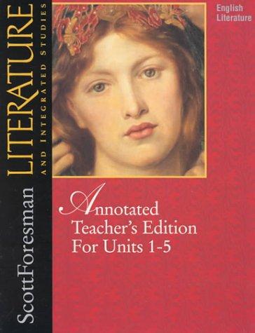 9780673294661: Literature 97 TE Volume 1 Grade 12 Copyright 1997