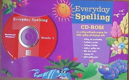 9780673301451: Everyday Spelling Grade 1 CD-ROM